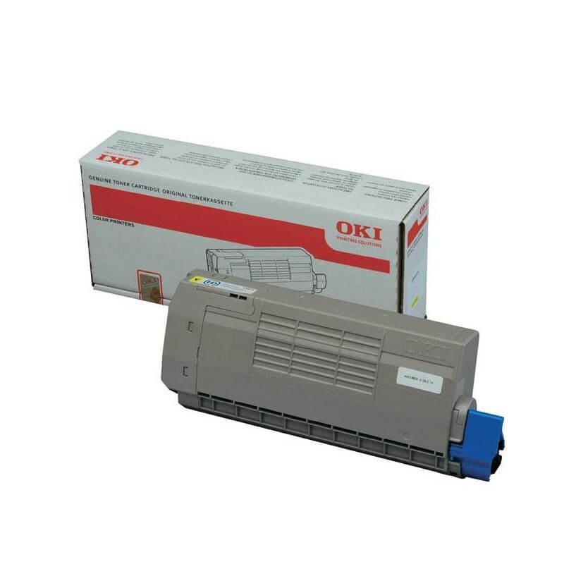 Toner OKI C711 Amarillo